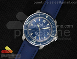 Fifty Fathoms SS Blue Dial